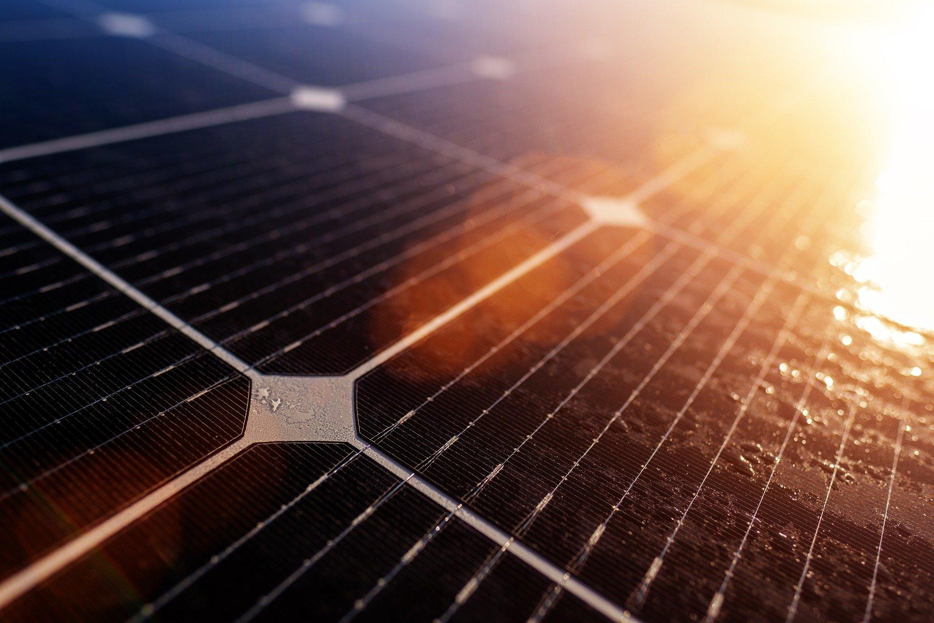 Zonnepaneel vermogen per vierkante meter