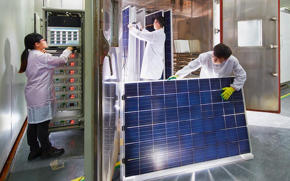 Tekort aan zonnepanelen